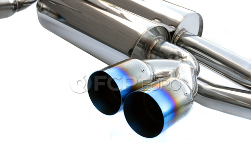 BMW Axle Back Exhaust (E46 M3) - Agency Power E46M3-170