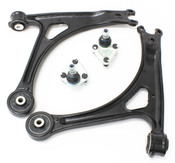 Audi VW Control Arm Kit 4-Piece - Lemforder TTCA4LEM