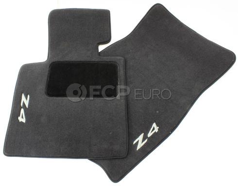 BMW Black Floor Mat Set (E85 E86 Z4) - Genuine BMW 82110152598