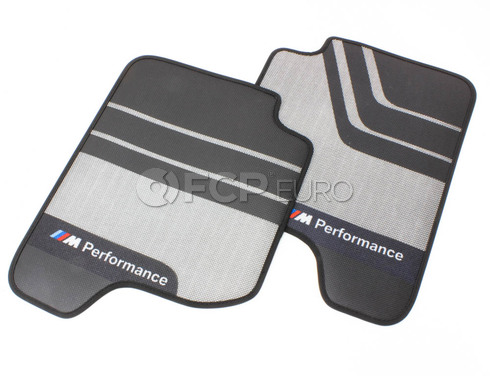 BMW Floor Mats 'Sport' Rear (M Performance) - Genuine BMW 51472333986