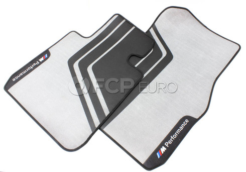BMW Floor Mats Sport Front (M Perform Lhd) - Genuine BMW 51472407299