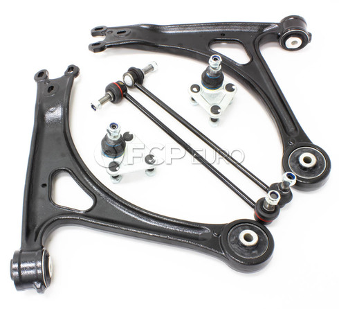 Audi VW Control Arm Kit 6-Piece - Lemforder TTCA6LEM