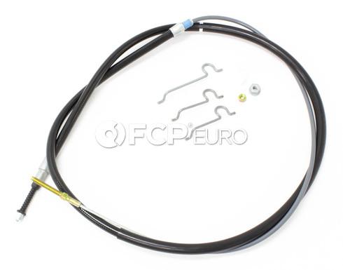 BMW Parking Brake Cable Left - Genuine BMW 34401166234