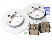 VW Brake Kit Rear (Jetta Beetle Golf) - Zimmermann/Akebono MK4BKREAR2