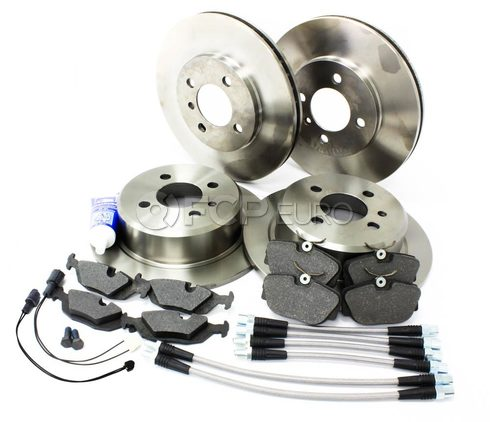 BMW Comprehensive Brake Kit With Stainless Lines (E30) - E30BK3