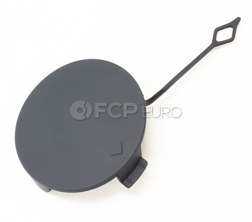 BMW Primed Tow Hook Cover Front  (F32 F33 F36) - Genuine BMW 51118061005