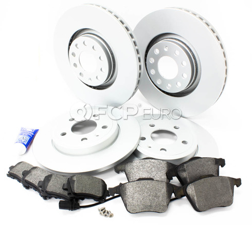 Audi Brake Kit Front & Rear (A4 A4 Quattro) - Meyle/Bosch B7A4BRAKE2