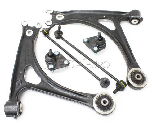 Audi VW Control Arm Kit 6-Piece - Genuine VW Audi TTCA6VAG