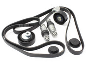 BMW Accessory Drive Belt Kit (E60 E63 E64 M5 M6) - 11287838226KT