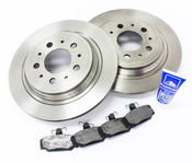 Volvo Brake Kit - Bosch KIT-P80AWD2BKKT4P5