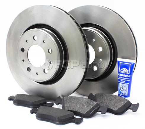 """Volvo Brake Kit 11.89"""" 5 Piece - Zimmerman KIT-518412"""