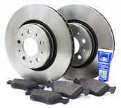 "Volvo Brake Kit 11.89"" 5 Piece - Zimmerman KIT-518412"