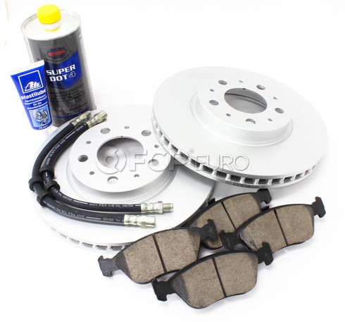 "Volvo Brake Kit 11"" Front 7 Piece (850 C70 S70 V70) - Meyle KIT-P80280FTBK3P7"