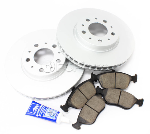"Volvo Brake Kit 11"" Front 5 Piece (850 C70 S70 V70) - Meyle KIT-P80280FTBK3P5"