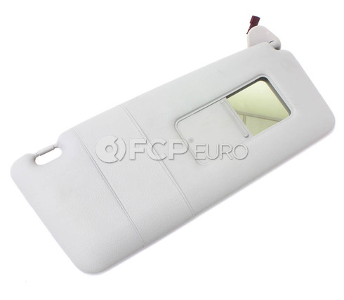 BMW Sun Visor Make-Up Lamp Right - Its (Light Grey) - Genuine BMW 51168242556