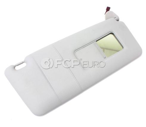 BMW Sun Visor Make-Up Lamp Right - Its (Light Grey) - Genuine BMW 51168242556