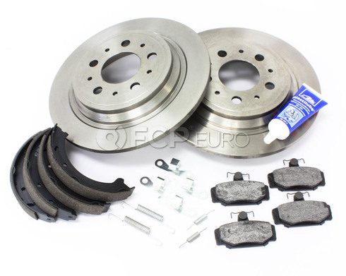 Volvo Brake Kit Rear (S70 V70) - Bosch KIT-P80AWD2REARBKKT3P7