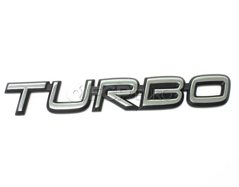 Volvo Turbo Emblem (740 850 940 960)  - Genuine Volvo 6817452