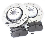 BMW Brake Kit - Genuine BMW 34112284101KTF