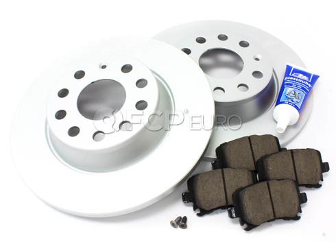 Audi VW Brake Kit Rear (A3 Jetta GTI) - Meyle/Akebono MK6REARMEY