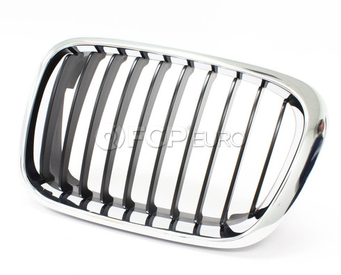 BMW Kidney Grille Left (Chrome) - Genuine BMW 51138208487