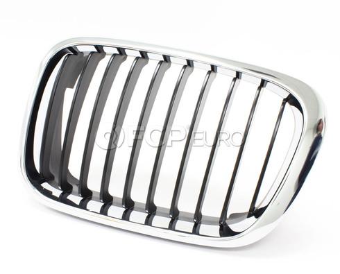 BMW Kidney Grille Left (Chrome) - Genuine BMW 51138208487