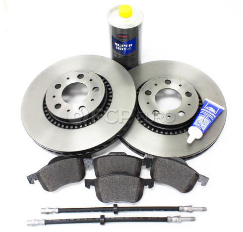 "Volvo Brake Kit 12"" Front 8 Piece  (S60 V70 XC70 S80) - Brembo KIT-P2305FTBK2P8"