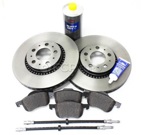 """Volvo Brake Kit 12"""" Front 8 Piece  (S60 V70 XC70 S80) - Brembo KIT-P2305FTBK2P8"""