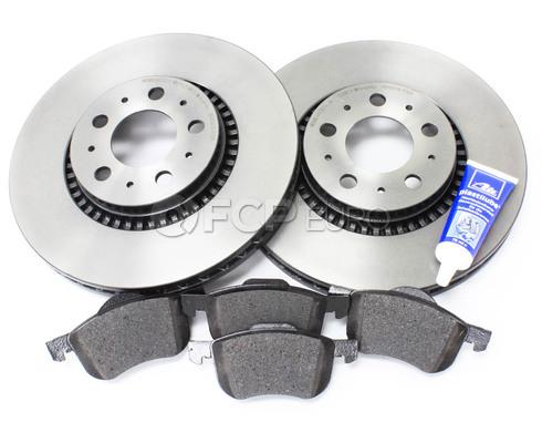 """Volvo Brake Kit 12"""" Front 5 Piece (S60 V70 XC70 S80) - Brembo KIT-P2305FTBK2P5"""