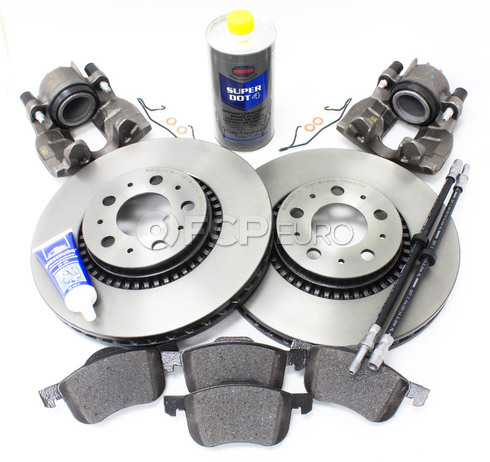 "Volvo Brake Kit 12"" Front 10 Piece  (S60 V70 XC70 S80) - Brembo KIT-P2305FTBK2P10"