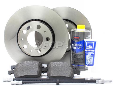 """Volvo Brake Kit 11.25"""" Front  8 Piece (S60 V70 XC70 S80) - Brembo KIT-P2286FTBK2P8"""
