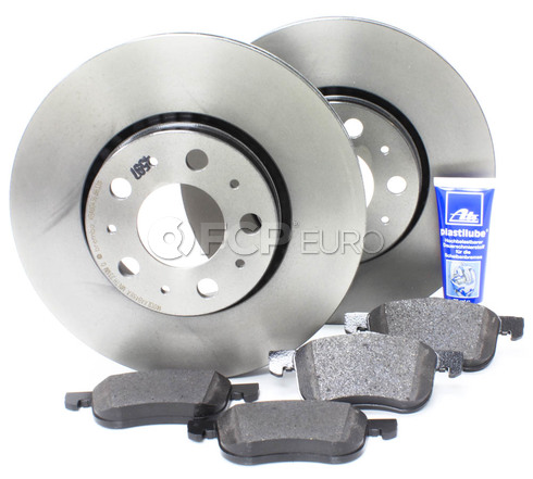 "Volvo Brake Kit 11.25"" Front  5 Piece (S60 V70 XC70 S80) - Brembo KIT-P2286FTBK2P5"