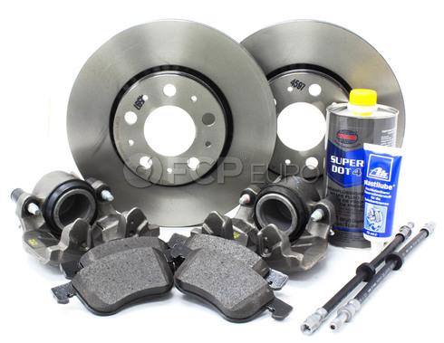 """Volvo Brake Kit 11.25"""" Front 10 Piece (S60 V70 XC70 S80) - Brembo KIT-P2286FTBK2P10"""