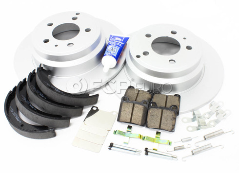 Volvo Brake Kit Rear (850 C70 S70 V70) - Meyle KIT-P80FWDREARBKKT3P7