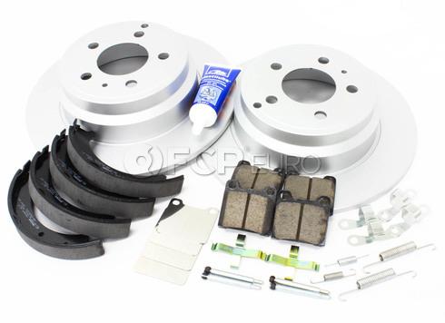 Volvo Brake Kit Rear (850 C70 S70 V70) - Meyle KIT-P80FWDREARBKKT3P7