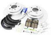 Volvo Brake Kit - Meyle KIT-P80FWDBKKT3P7