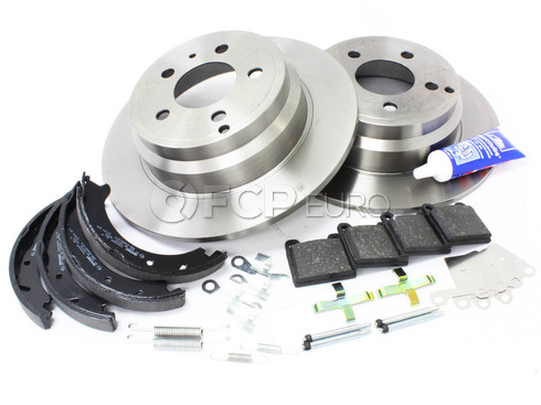 Volvo Brake Kit Rear (850 C70 S70 V70) - Brembo KIT-P80FWDREARBKKT2P7
