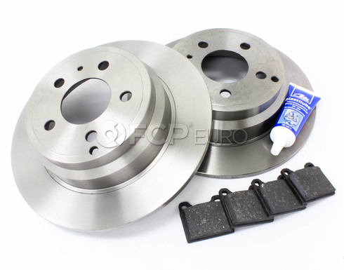 Volvo Brake Kit Rear (850 C70 S70 V70) - Brembo KIT-P80FWDREARBKKT2P5