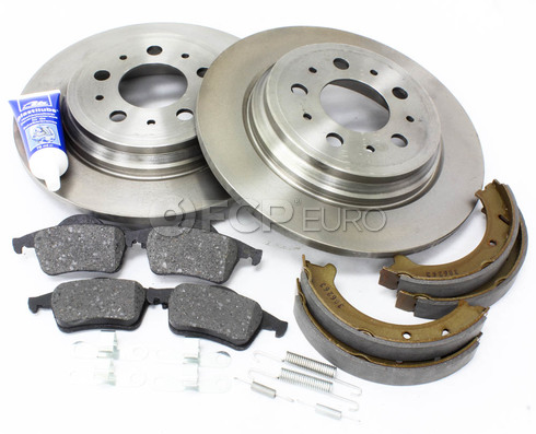 Volvo Brake Kit Rear (S70 V70) - Brembo KIT-P80AWDREARBKKT2P7