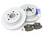 Volvo Brake Kit - Zimmerman KIT-P80AWD2BKKT2P5