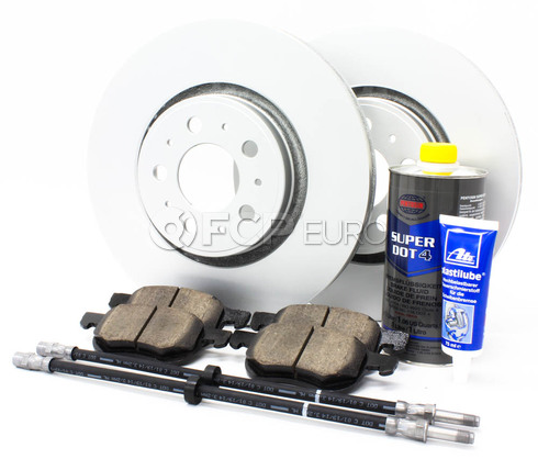 "Volvo Brake Kit 12.6"" Front 8 Piece  (S80) - Meyle KIT-P2S80320FTBK3P8"