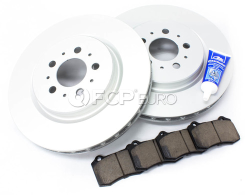 Volvo Brake Kit Rear 5 Piece (S60R V70R) - Meyle KIT-P2RREARBK3P5