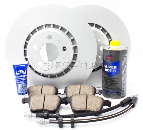 Volvo Brake Kit - Meyle KIT-P2336FTBK3P8