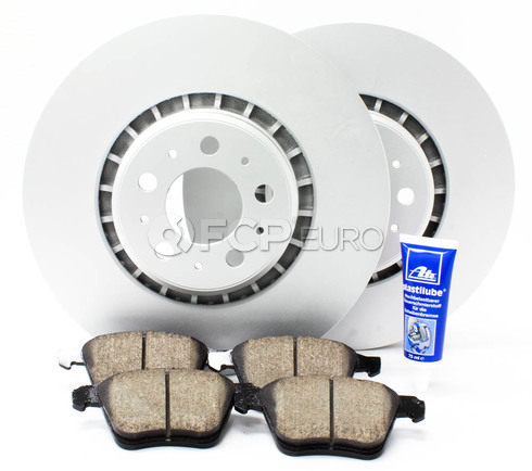 "Volvo Brake Kit Front 13.23"" 5 Piece (XC90) - Meyle KIT-P2336FTBK3P5"