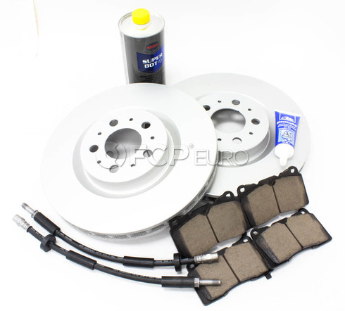 "Volvo Brake Kit Front 13"" 8 Piece (S60R V70R) - Meyle KIT-P2330FTBK3P8"