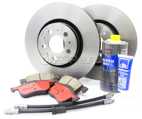 "Volvo Brake Kit 12.6"" Front 8 Piece (S60 V70) - Brembo KIT-P2320FTBK4P8"