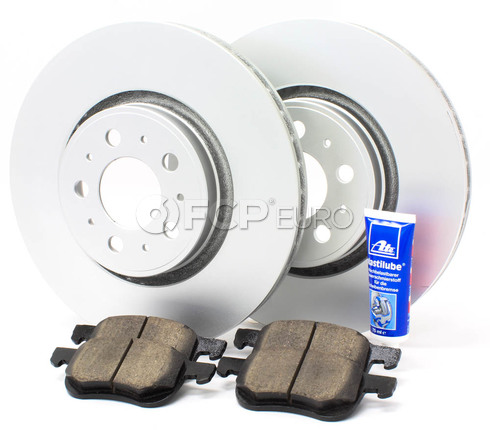 "Volvo Brake Kit 12.6"" Front 5 Piece  (S60 V70 XC70 S80) - Meyle KIT-P2320FTBK3P5"