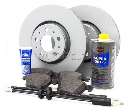 "Volvo Brake Kit Front 12.5"" 8 Piece (XC90) - Zimmerman KIT-P2316FTBK2P8"