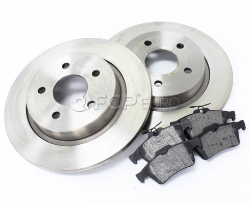 Volvo Brake Kit Rear 5 Piece (C30 S40 V50 C70) - Eurospare / Bosch KIT-P1REARBKKT4P5