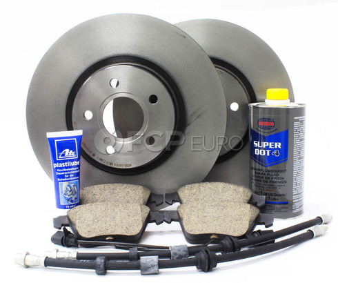 "Volvo Brake Kit 12.6"" Front 8 Piece (S40 V50 C70) - Brembo KIT-P1320FTBK2P8"